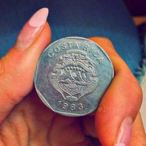 Монета Коста-Рика